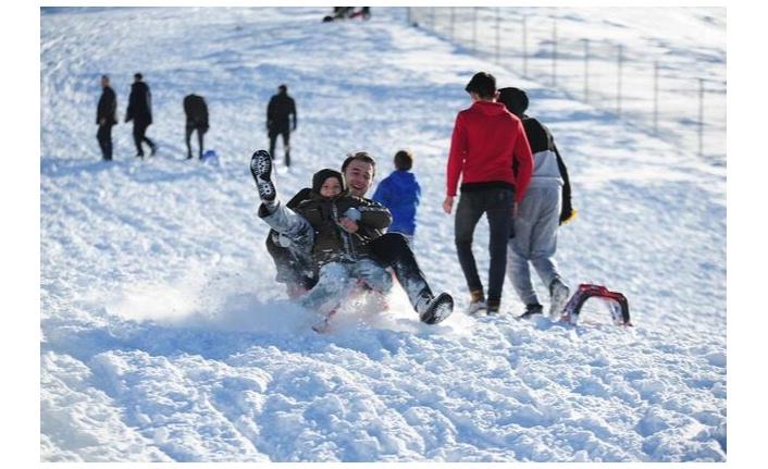 Ankara'da kayak merkezi…