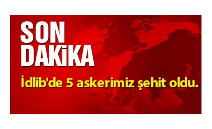 İDLİB'DEN ACI HABER