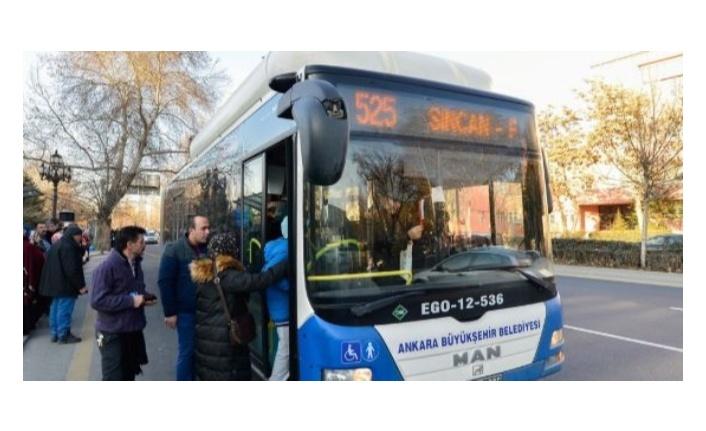 Ankara'da sağlıkçılara ücretsiz toplu ulaşım hizmeti