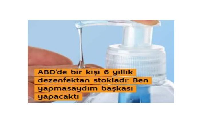 Satmak İçin 17.700 Şişe El Dezenfektanı Satın Alan Adamın Dezenfektan Satması Yasaklandı