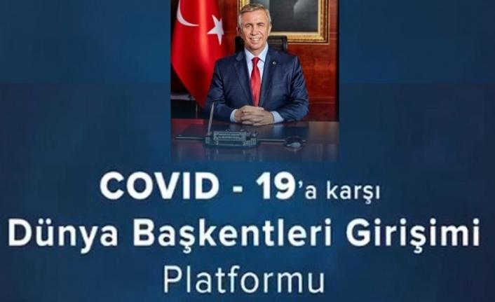Ankara, Covid-19'a karşı 43 kenti bir araya getiren Dünya Başkentleri Platformu'nu kurdu