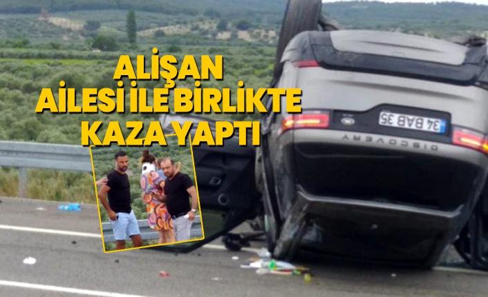 Alişan ve ailesi trafik kazası geçirdi! Alişan kaza anını anlatırken gözyaşlarını tutamadı