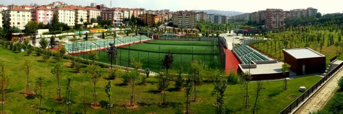 Ankara'daki Halı Sahalar