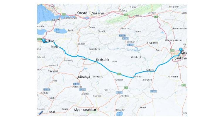 Ankara Bursa Arası Kaç Km? Ankara Bursa Arası Kaç Saat? Ankara Bursa Yol Tarifi, Ankara Bursa Otobüs ve Uçak Bileti Fiyatları…