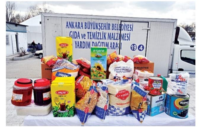 Ankara Büyükşehir Belediyesi gıda yardımı ne zaman dağıtılacak 2020