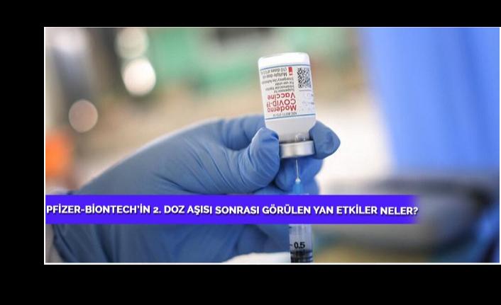 Pfizer-Biontech'in 2. Doz Aşısını Yaptıranlarda Görülen Yan Etkiler