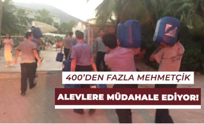 400'den Fazla Mehmetçiğimizin Alevlere Müdahalesi Sürüyor