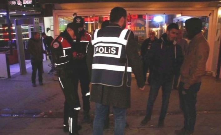Ankara'da asayiş uygulamaları:268 tutuklu