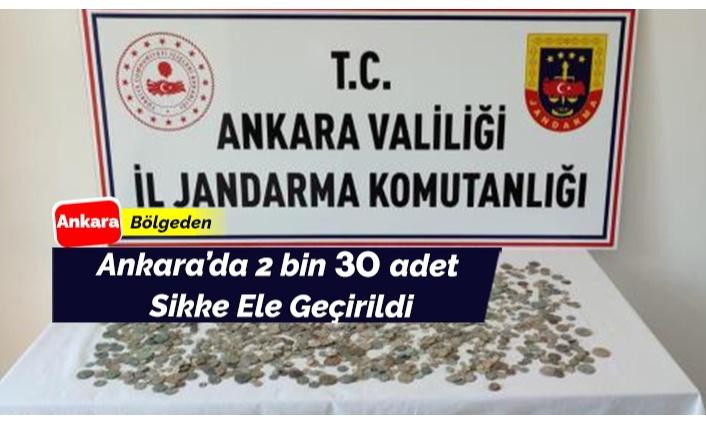 Ankara'da tarihi öneme sahip sikkeler bulundu