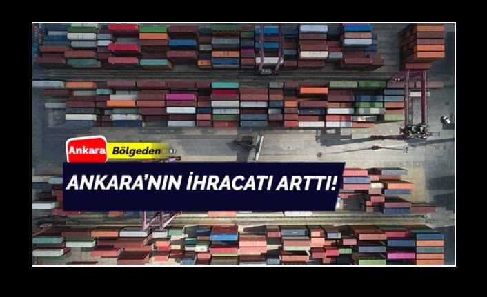 Ankara'nın İhracatında Artış