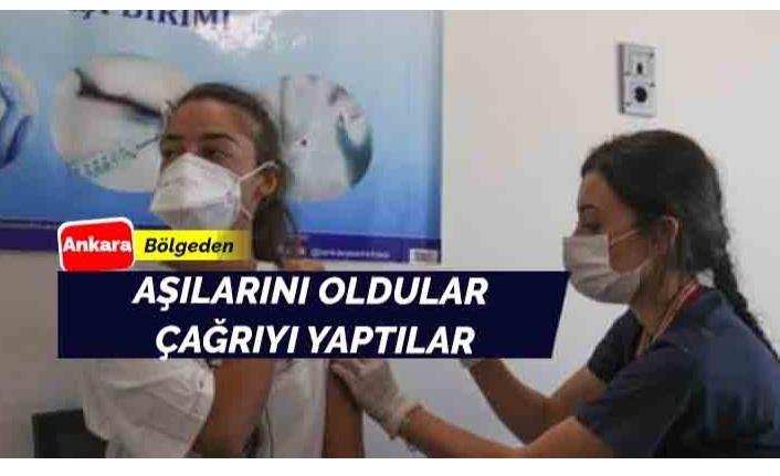 Ankara'da Aşı Çağrıları Sürüyor