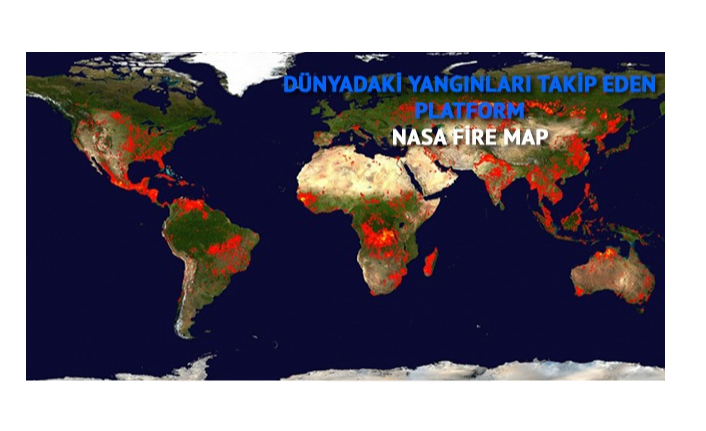 Dünyadaki yangınları takip edebileceğiniz platform: NASA Fire Map