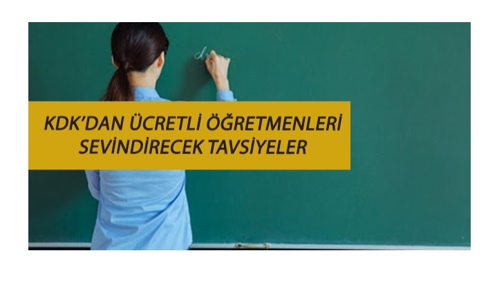Ücretli öğretmenleri sevindirecek haber