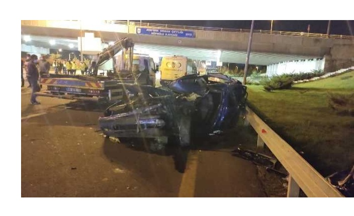 Ankara'da feci kaza