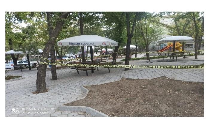 Ankara'da cinayet! Başından vurulan adam hayatını kaybetti
