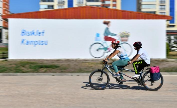 Bisiklet Kampüsü'nde Bisiklet Ulaşımı