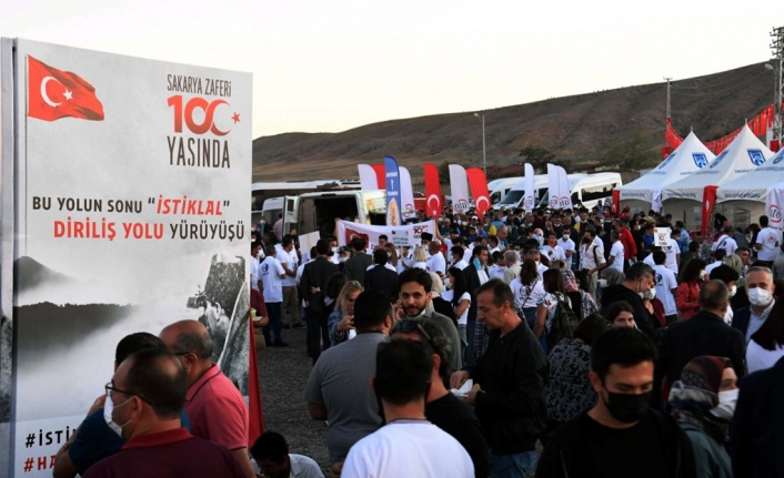 Sakarya Zaferi'nin 100. Yılı Etkinliğine Yoğun Katılım