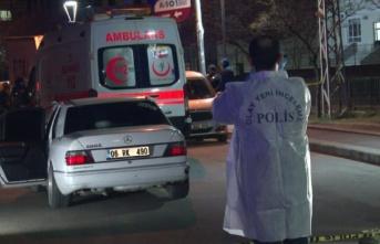Ankara'da sokağın ortasında kanlı infaz!