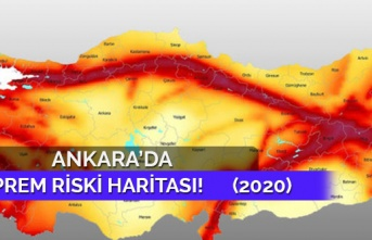 Ankara deprem haritası 2020