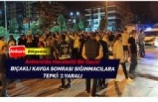 Ankara'da hareketli anlar! 2 Türk vatandaşı bıçaklandı