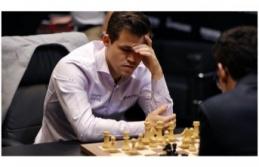 Magnus Carlsen satranç tarihine  Adını Yazdırdı