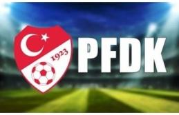 PFDK kulüplere cezalar yağdırdı.