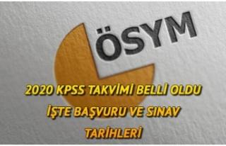 KPSS BAŞVURU TARİHLERİ BELLİ OLDU.