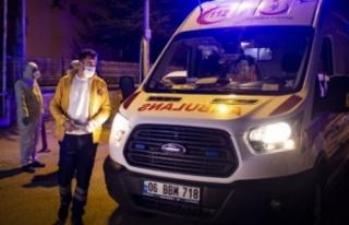 Ankara'da koronavirüs şüphesi olan vatandaş...