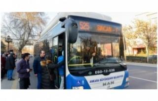 Ankara'da sağlıkçılara ücretsiz toplu ulaşım...