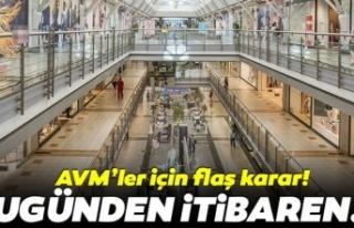 Ankara'da bazı AVM'ler kapatıldı