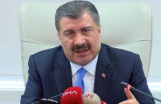 Sağlık Bakanı Koca, Türkiye'deki ilk Corona...