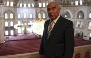 Ünlü hafız ve mevlithan İsmail Coşar ile eşi...