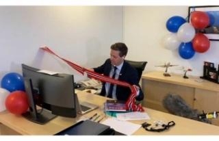 Tünel açılışı törenini çevrimiçi gerçekleştiler