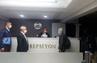 Dört günlük yasakta Ankara'dan Çorum'a yürüdüler
