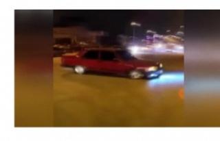 Ankara'da drift terörü!