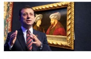 İmamoğlu, Fatih tablosuna verilen 6,5 milyon liraya...