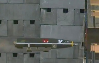 Türkiye'nin geliştirdiği SARB-83 uçak bombası...