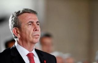 Ankara Büyükşehir Belediye Başkanı Mansur Yavaş...
