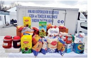 Ankara Büyükşehir Belediyesi gıda yardımı ne...