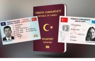 2021 yılı sürücü, pasaport, kimlik kartı bedelleri...
