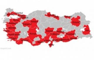 81 İlin Tamamı Büyükşehir Oluyor: İlçeler Tek...
