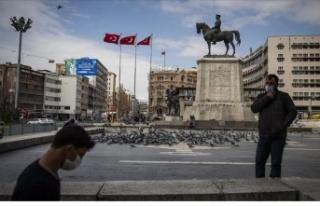 Ankara'da hafta sonu sokağa çıkma yasağı var...