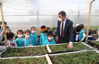 Başkan Şimşek: Ata tohumundan ürettiğimiz fideleri...