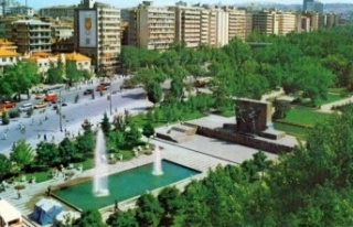 Büyükşehir Belediyesi başkenti peyzaj çalışmalarıyla...
