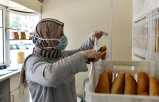 Halk Ekmek'e Kadın Eli Değiyor