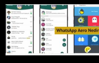 WhatsApp Aero Nedir? Kullanılmasında Neden Sakınca...