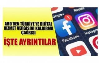 ABD'den Türkiye'ye dijital hizmet vergisi için...