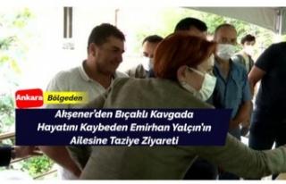 Akşener'den Emirhan Yalçın'ın ailesine...