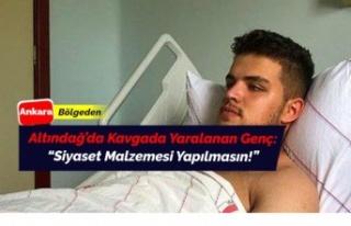 Altındağ'da saldırıda yaralanan gençten...