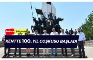 Ankara'da 100. Yıl coşkusu!
